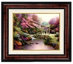 Thomas Kinkade Pools of Serenity 24 30 Canvas Framed S/N