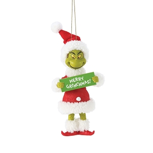 Grinch Merry Grinchmas Ornament 6006019