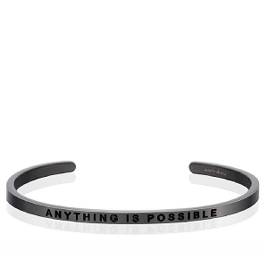 Anything Is Possible Moon Gray