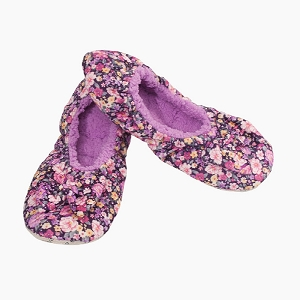 Purple Floral Women's Medium 7-8