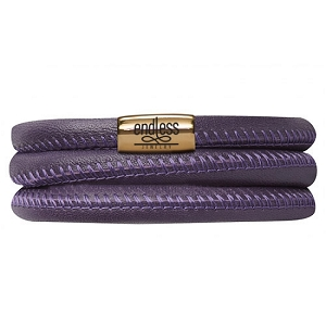Bracelet Purple Triple 7.0 Gold