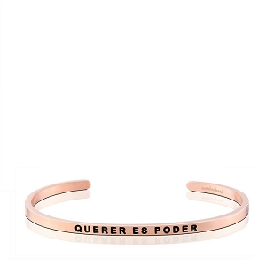 Querer Es Poder Rose Gold