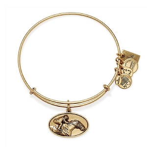 Racehorse Charm Bangle Rafaelian Gold