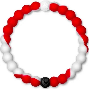 Lokai Red White Small