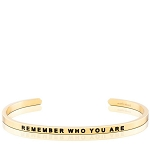 Remember Who You Are Gold