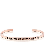 Remember Who You Are Rose Gold