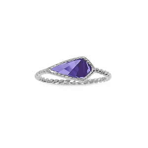Sloane Ring in Tanzanite Size 8