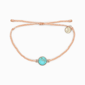Riviera Charm Bracelet Blush Rose Gold