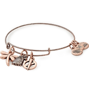 Game of Thrones Sansa Stark Charm Bangle Rose Gold