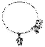 Sea Turtle Charm Bangle Rafaelian Silver