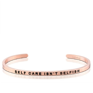 Self Care Isn't Selfish Rose Gold