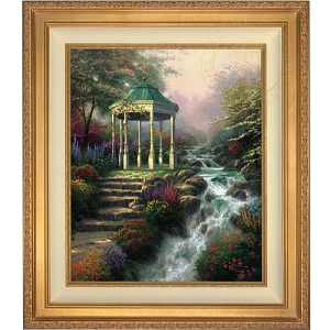 Thomas Kinkade Sweetheart Gazebo 20 x 24