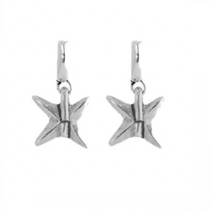 Shuriken Earrings PEN0499MTL0000U