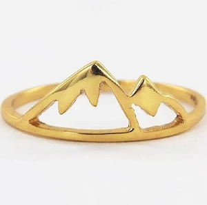Sierra Ring Gold Size 6