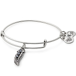 Small Feather Bangle Rafaelian Silver