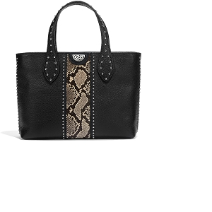 Zoey Small Convertible Tote Snake Print H36684