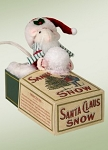 Mouse in Christmas Snow Box