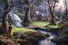 Thomas Kinkade Snow White 18 x 27 50/55 PP