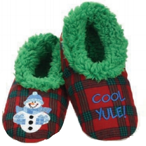 Kids Ugly Christmas Cool Yule Slippers Large 4-5