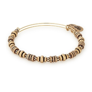 Spellbound Beaded Bangle Gold