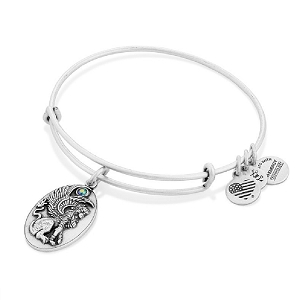 Sphinx Charm Bangle Rafaelian Silver