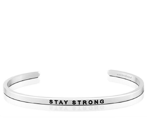 Stay Strong Breast Cancer Silver