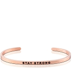 Stay Strong Rose Gold