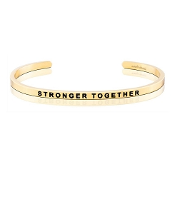 Stronger Together Alzheimer's Association Gold
