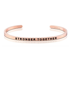 Stronger Together Alzheimers Association Rose Gold