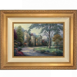 Thomas Kinkade Beyond Summer Gate 18 x 27