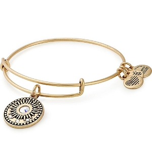 Midnight Sun Charm Bangle Gold
