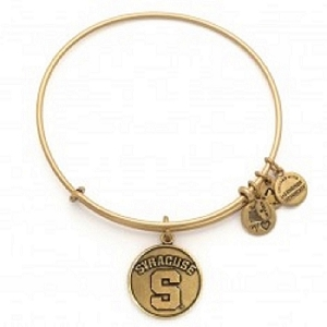 Syracuse University Charm Bangle Rafaelian Gold