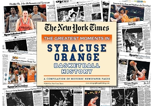 Syracuse Orange Basketball History New York Times Newspaper Compilation