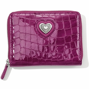 Bellissimo Heart Wallet Guavaberry t2235G