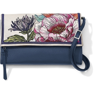 Enchanted Garden Embroidered Flap Organizer T4397M