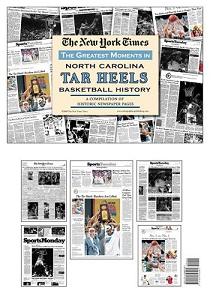 North Carolina Tar Heels New York Times Newspaper Compilation