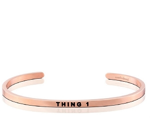 Thing One Silver Rose Gold