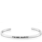 Think Happy Silver