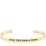 This Too Shall Pass Gold
