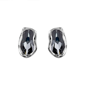 Uno De 50 Thrilled Earrings Grey