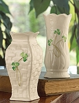 Belleek China  Mini Vases Set of 2 1788