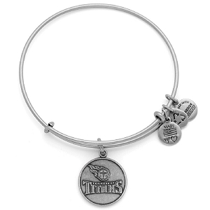 Tennessee Titans Logo Charm Bangle Silver