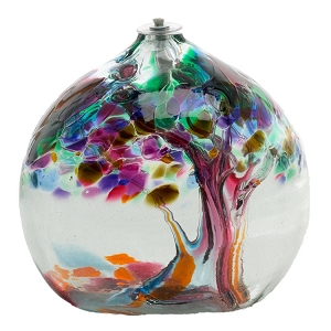 Tree of Friendship Oil Lamp 6 in