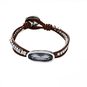 The Tribe Bracelet Grey PUL1657GRSMTL0M