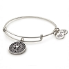 True Direction Charm Bangle Rafaelian Silver