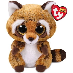 Beanie Boos Rusty Raccoon Stuffed Animal 6