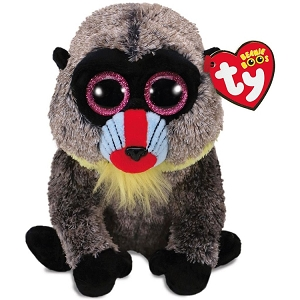 Beanie Boos Wasabi Baboon Stuffed Animal 6