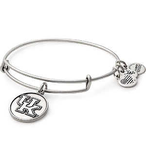 University Of Kentucky Charm Bangle Rafaelian Silver