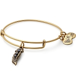 Small Feather Bangle Rafaelian Gold