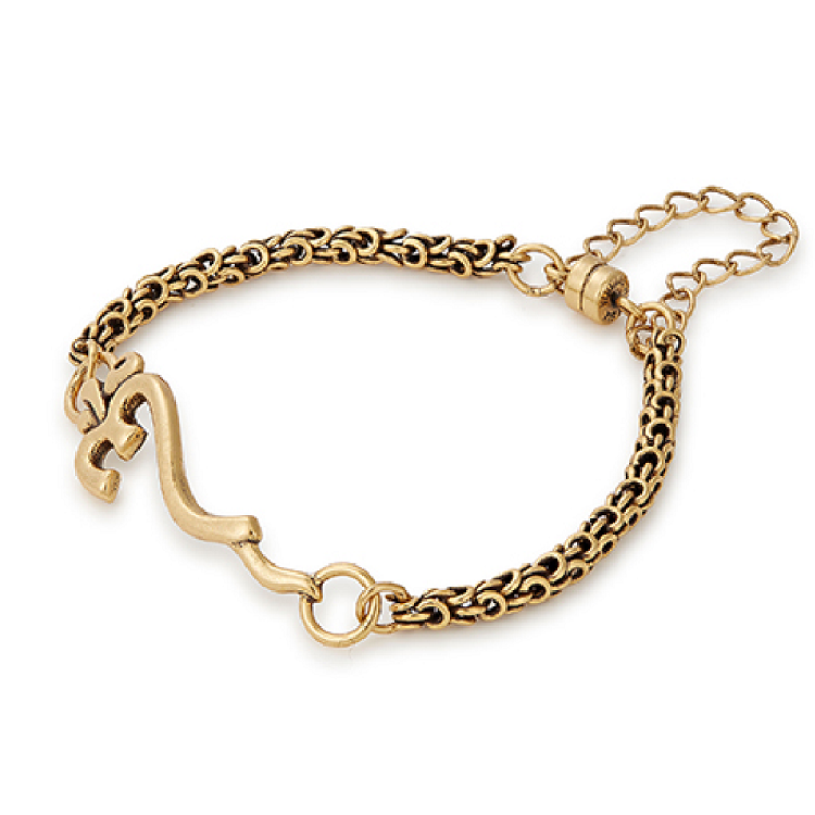 376805bdaa584 Om Magnetic Bracelet Rafaelian Gold